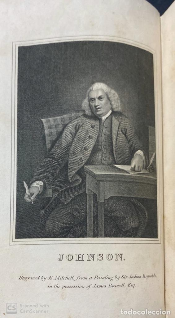 Libros antiguos: THE LIFE OF SAMUEL JOHNSON. BY JAMES BOSWELL. VOL. I. LONDON, 1823. PAGS: 416 - Foto 5 - 191870518