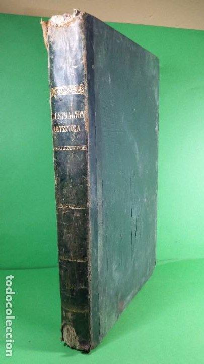 1886. LA ILUSTRACIÓN ARTÍSTICA. (Libros Antiguos, Raros y Curiosos - Bellas artes, ocio y coleccionismo - Otros)