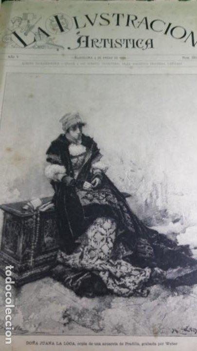 Libros antiguos: 1886. La Ilustración artística. - Foto 5 - 191918453