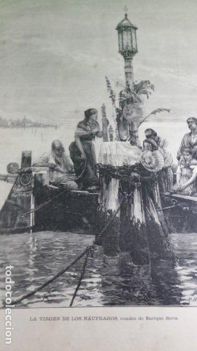 Libros antiguos: 1886. La Ilustración artística. - Foto 7 - 191918453