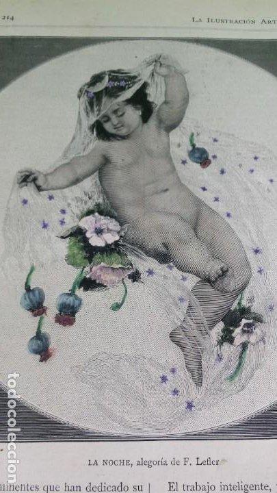 Libros antiguos: 1886. La Ilustración artística. - Foto 18 - 191918453