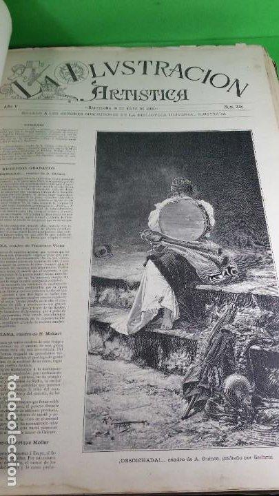 Libros antiguos: 1886. La Ilustración artística. - Foto 25 - 191918453