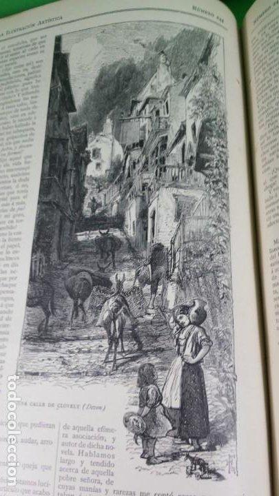 Libros antiguos: 1886. La Ilustración artística. - Foto 37 - 191918453