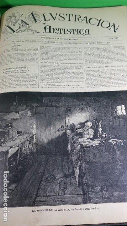 Libros antiguos: 1886. La Ilustración artística. - Foto 38 - 191918453