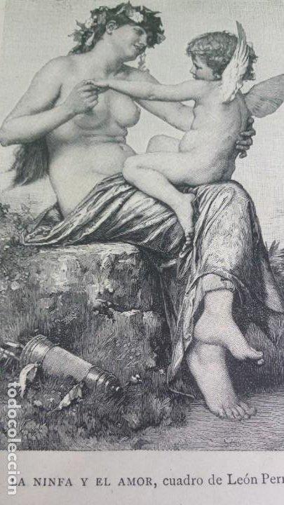 Libros antiguos: 1.887 La Ilustración Artística. - Foto 5 - 191920878