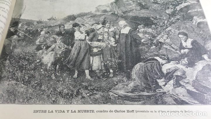 Libros antiguos: 1.887 La Ilustración Artística. - Foto 6 - 191920878