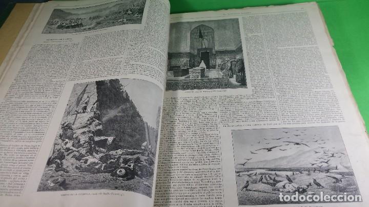 Libros antiguos: 1.887 La Ilustración Artística. - Foto 11 - 191920878