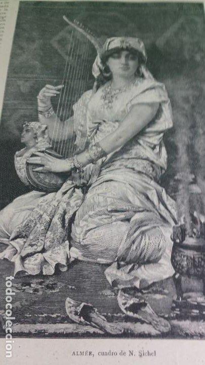 Libros antiguos: 1.887 La Ilustración Artística. - Foto 13 - 191920878