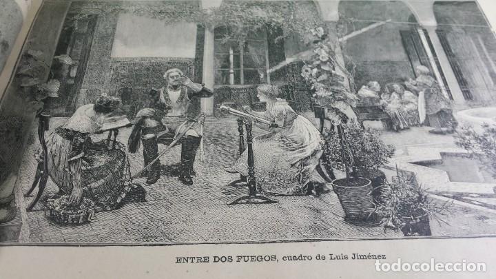 Libros antiguos: 1.887 La Ilustración Artística. - Foto 16 - 191920878