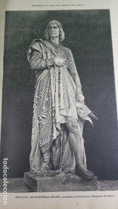Libros antiguos: 1.887 La Ilustración Artística. - Foto 21 - 191920878