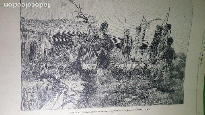 Libros antiguos: 1.887 La Ilustración Artística. - Foto 25 - 191920878
