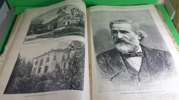 Libros antiguos: 1.887 La Ilustración Artística. - Foto 31 - 191920878