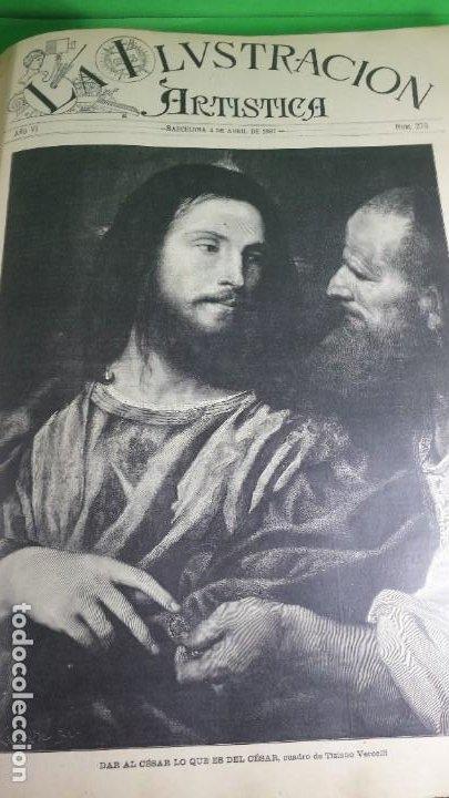 Libros antiguos: 1.887 La Ilustración Artística. - Foto 39 - 191920878