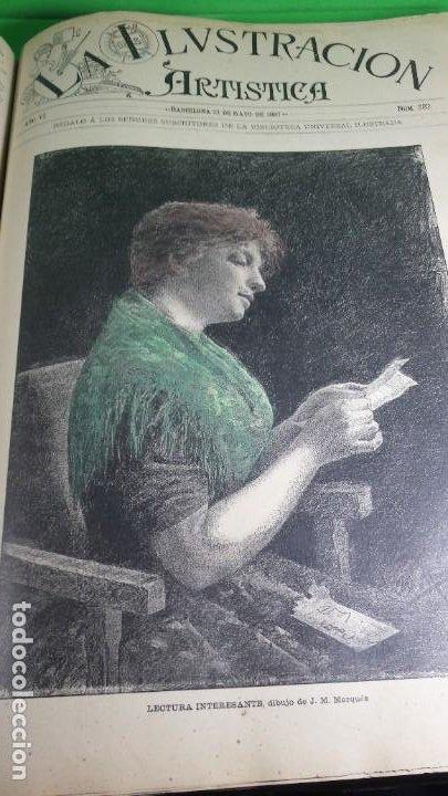 Libros antiguos: 1.887 La Ilustración Artística. - Foto 45 - 191920878