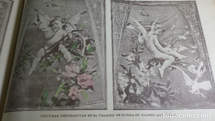 Libros antiguos: 1.887 La Ilustración Artística. - Foto 46 - 191920878
