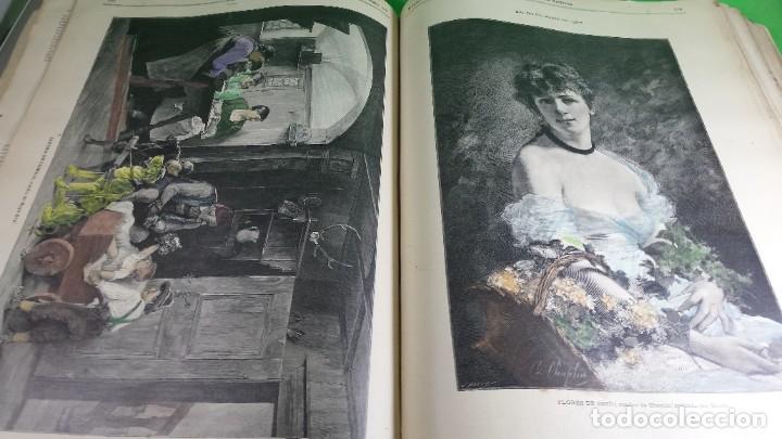 Libros antiguos: 1.887 La Ilustración Artística. - Foto 48 - 191920878