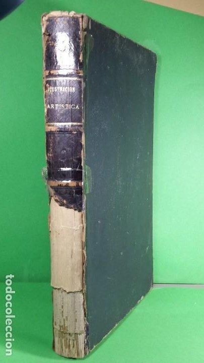 1.889 LA ILUSTRACIÓN ARTÍSTICA. (Libros Antiguos, Raros y Curiosos - Bellas artes, ocio y coleccionismo - Otros)