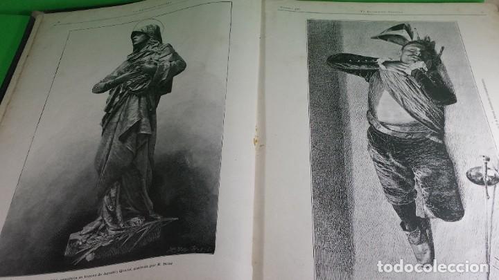 Libros antiguos: 1.889 La Ilustración artística. - Foto 3 - 191923357