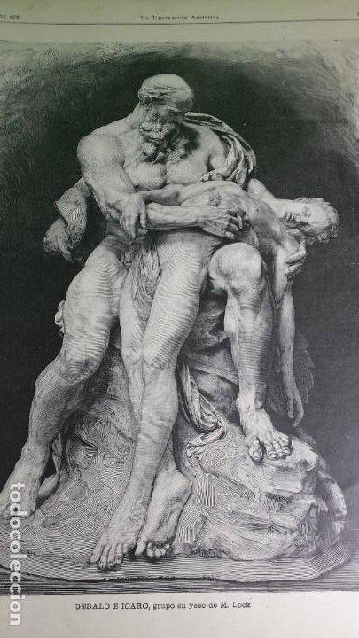 Libros antiguos: 1.889 La Ilustración artística. - Foto 5 - 191923357