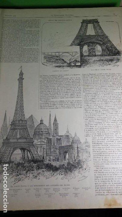 Libros antiguos: 1.889 La Ilustración artística. - Foto 7 - 191923357