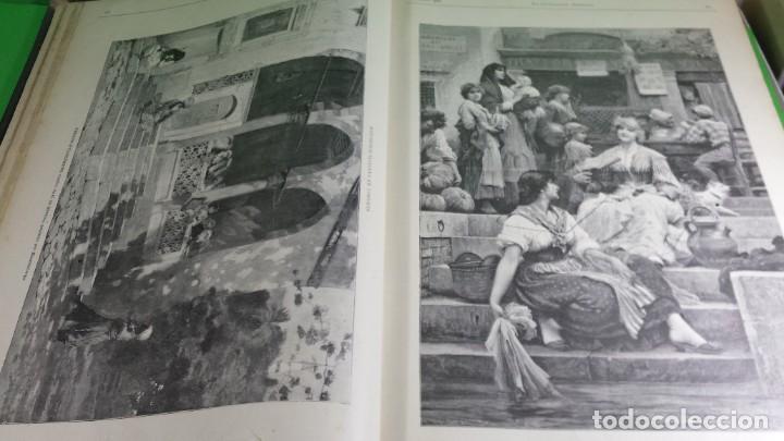 Libros antiguos: 1.889 La Ilustración artística. - Foto 8 - 191923357