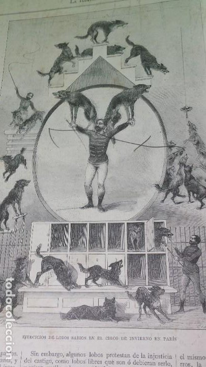 Libros antiguos: 1.889 La Ilustración artística. - Foto 9 - 191923357