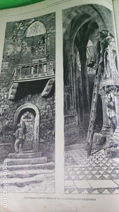 Libros antiguos: 1.889 La Ilustración artística. - Foto 11 - 191923357