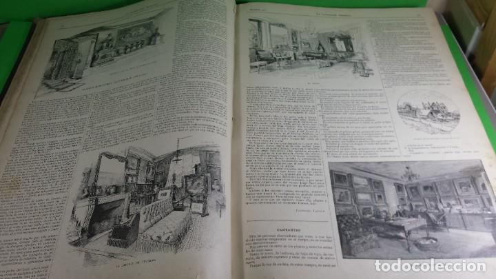 Libros antiguos: 1.889 La Ilustración artística. - Foto 15 - 191923357
