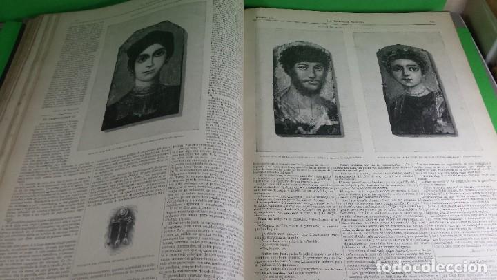 Libros antiguos: 1.889 La Ilustración artística. - Foto 23 - 191923357