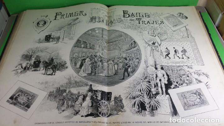Libros antiguos: 1.889 La Ilustración artística. - Foto 27 - 191923357