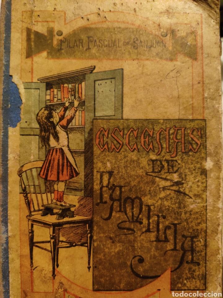 ESCENAS DE FAMILIA, PILAR PASCUAL DE SAN JUAN 1898 (Libros Antiguos, Raros y Curiosos - Literatura Infantil y Juvenil - Otros)