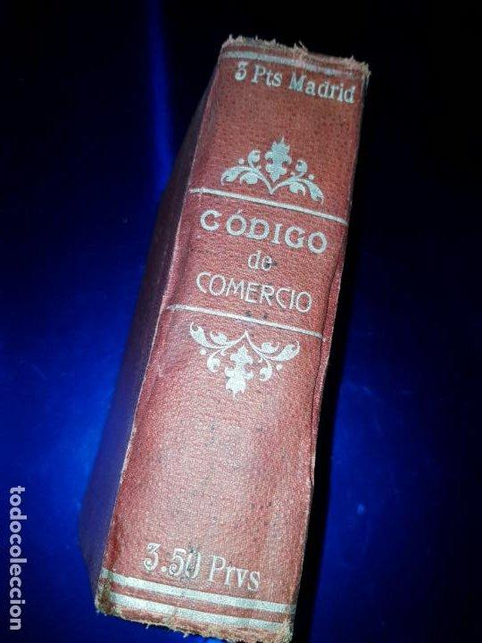 Libros antiguos: LIBRO-CÓDIGO DE COMERCIO-1910-CENTRO EDITORIAL GÓNGORA-DUODÉCIMA EDICIÓN-RARO+ESCASO-VER FOTOS - Foto 2 - 192097070