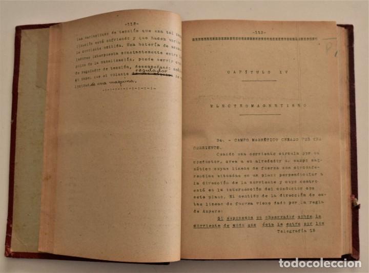 Libros antiguos: ESCUELA OFICIAL DE TELEGRAFÍA, APUNTES PARA UN PROGRAMA DE TELEGRAFÍA PRÁCTICA, RAMÓN M. NIETO 1920 - Foto 5 - 192162900