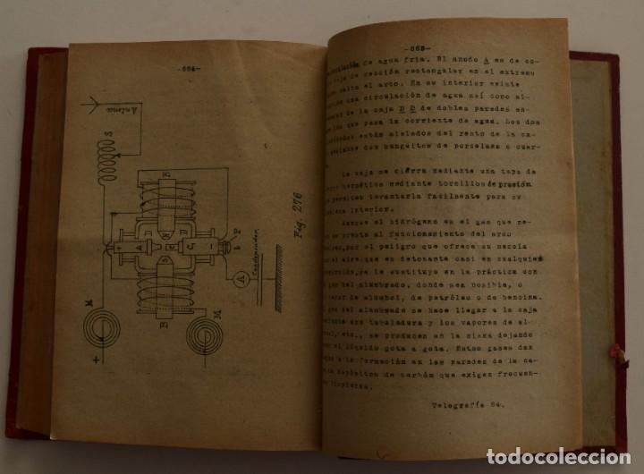 Libros antiguos: ESCUELA OFICIAL DE TELEGRAFÍA, APUNTES PARA UN PROGRAMA DE TELEGRAFÍA PRÁCTICA, RAMÓN M. NIETO 1920 - Foto 6 - 192162900