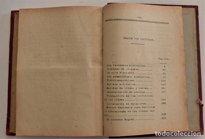 Libros antiguos: ESCUELA OFICIAL DE TELEGRAFÍA, APUNTES PARA UN PROGRAMA DE TELEGRAFÍA PRÁCTICA, RAMÓN M. NIETO 1920 - Foto 7 - 192162900