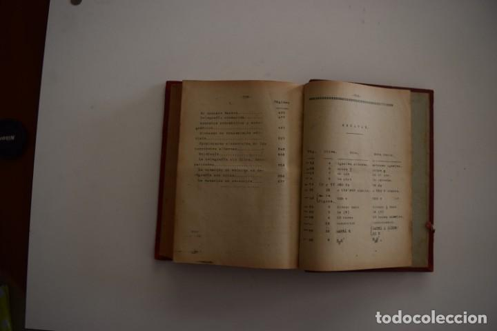 Libros antiguos: ESCUELA OFICIAL DE TELEGRAFÍA, APUNTES PARA UN PROGRAMA DE TELEGRAFÍA PRÁCTICA, RAMÓN M. NIETO 1920 - Foto 8 - 192162900