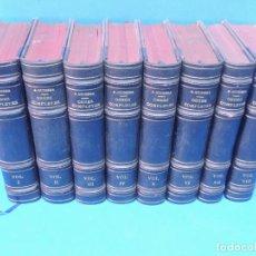 Libros antiguos: OBRES COMPLETES.- ANGEL GUIMERÁ (8 VOLUMENES). Lote 192223713