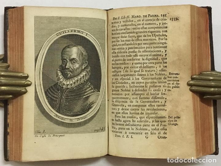 Libros antiguos: GUERRAS DE FLANDES ... NUEVA EDICION. Amberes, 1748. - Foto 3 - 192235551