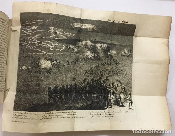 Libros antiguos: GUERRAS DE FLANDES ... NUEVA EDICION. Amberes, 1748. - Foto 4 - 192235551