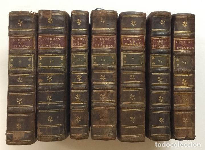 Libros antiguos: GUERRAS DE FLANDES ... NUEVA EDICION. Amberes, 1748. - Foto 5 - 192235551