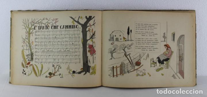 Libros antiguos: G. Fanciulli / V. Morell - Canzoncine italiane - 1931 - Libreria dello statto roma - Foto 6 - 192254508