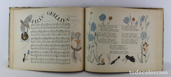 Libros antiguos: G. Fanciulli / V. Morell - Canzoncine italiane - 1931 - Libreria dello statto roma - Foto 8 - 192254508