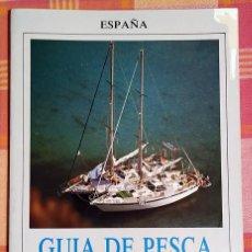 Libros antiguos: GUÍA DE PESCA DEPORTIVA DEL MEDITERRÁNEO . Lote 192272996