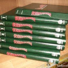 Libros antiguos: DINOSAURIOS-DESCUBRE LOS GIGANTES DEL MUNDO PREHISTORICO-8 TOMOS. Lote 214316222
