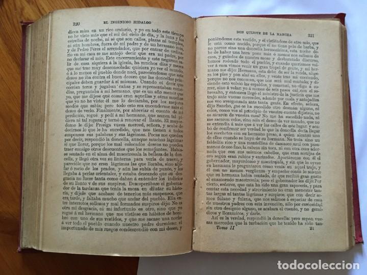 Libros antiguos: libro antiguo don quijote de la mancha del año 1901, tomo segundo, edicion ilustrada - Foto 13 - 192345080