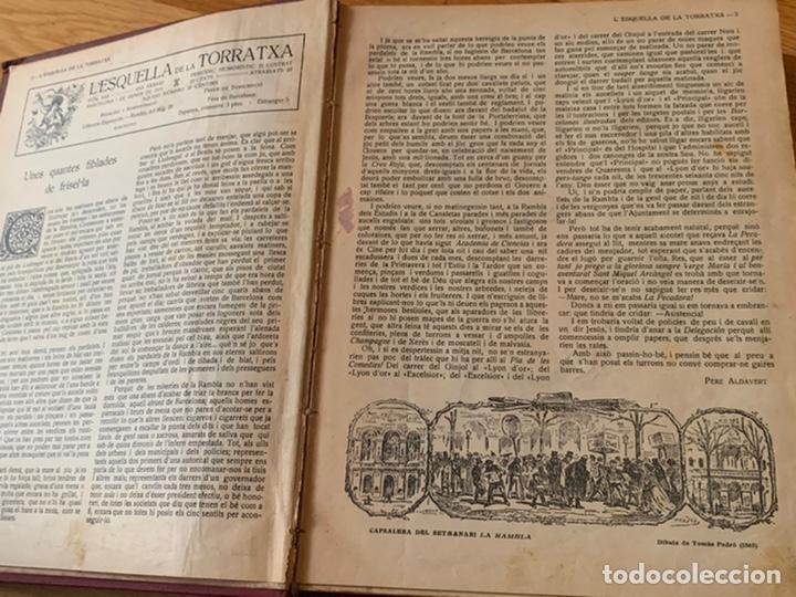 Libros antiguos: L- L'esquella de la Torratxa, 1916. Molt bon estat - Foto 6 - 192347978