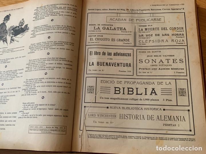 Libros antiguos: L- L'esquella de la Torratxa, 1916. Molt bon estat - Foto 9 - 192347978