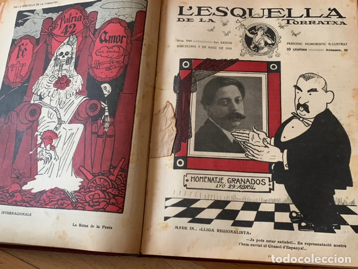 Libros antiguos: L- L'esquella de la Torratxa, 1916. Molt bon estat - Foto 11 - 192347978