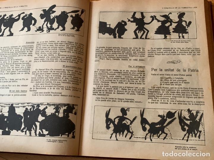Libros antiguos: L- L'esquella de la Torratxa, 1916. Molt bon estat - Foto 12 - 192347978