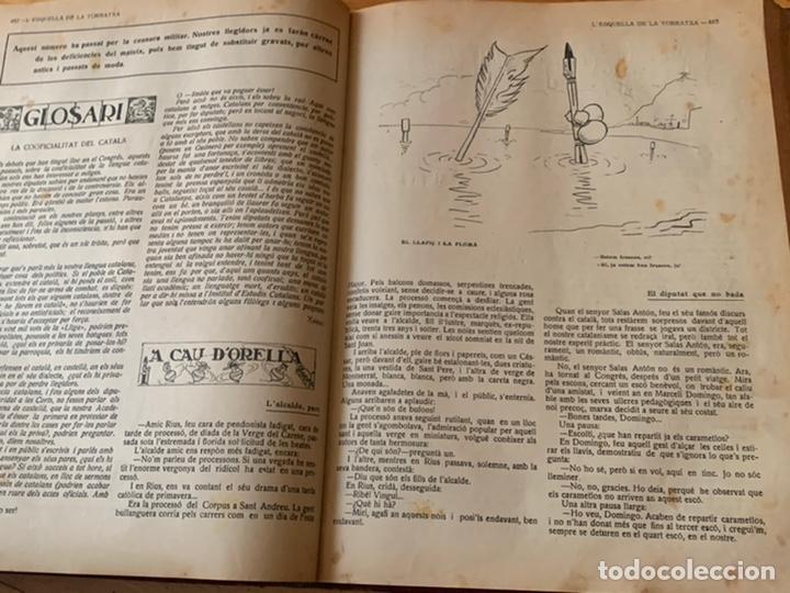 Libros antiguos: L- L'esquella de la Torratxa, 1916. Molt bon estat - Foto 13 - 192347978
